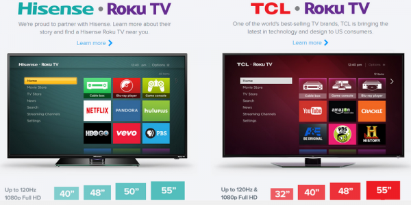 HCL, Hisense Roku TVs now official to challenge Android TV