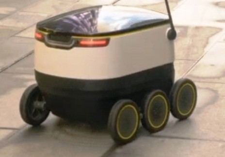 Self-driving Delivery Robots
