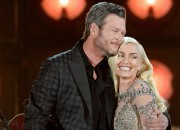 Gwen Stefani and Blake Shelton spotted in Disneyland for a family date with Gwen's kid as they celebrate their relationship's first year anniversary.