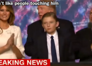 A video of Barron Trump that suggests the boy has autism has been deleted as per request of the first lady, Melania Trump.