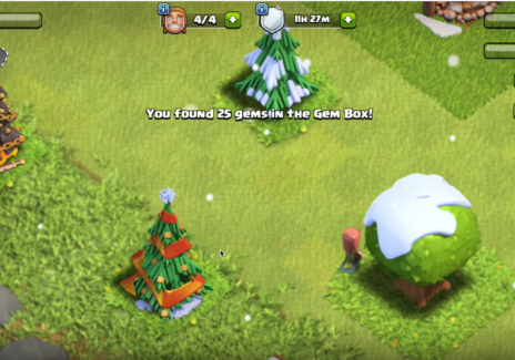 Clash Of Clans Guide How To Keep Seasonal Christmas Obstacles For