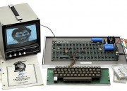 An Apple 1 built by Apple co-founders Steve Jobs and Steve Wozniak went on auction in Germany and sold for a lot.
