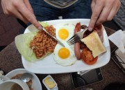 Health researchers issued a health warning on the increased risk for heart disease if breakfast is regularly skipped. Late night snacking is also identified as a health warning as our bodies are not built to digest food late at night.