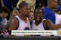 Kevin Durant And Draymond Green Arguing Once Again