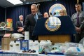 New York Attorney General Eric T. Schneiderman Announces Large Heroin Bust