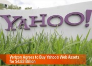Yahoo!, the once gigantic tech company has now declined for several years and is now crumbling down. Luckily for the company, Verizon Communications has decided that it will pursue its purchase of the company, worth $350M.