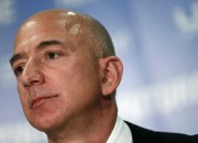 Jeffery P. Bezos, the founder of space company Blue Origin is not competing with SpaceX's founder Elon Musk to take people and cargo to Mars at the moment. He is only trying to deliver cargo to the moon in the next couple of years and perhaps also deliver humans to the lunar surface to occupy the moon as a dwelling place. Bezos is also the founder of Amazon.com and the owner of The Washington Post.
