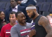 John Wall recently said that former teammate DeMarcus Cousins may play with the Washington Wizards jersey. He stated that it was Cousins who told him this. This will make Wizard fans happy.