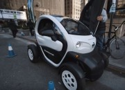 Japanese automaker Nissan, amongst other things, will soon be testing out a new vehicle based on the Renault Twizy chassis as part of a new public car sharing program. The pilot program — utilizing the Twizy-like Nissan New Mobility Concept is part of a larger push that will involve revitalizing urban and suburban areas.