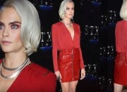 As the English fashion model and actress Cara Delevingne heads to the recently concluded CinemaCon in Las Vegas on March 28, the public seemed to have been obsessed with her sexy red leather ensemble and her plunging neckline. She arrived at the said event to promote her highly anticipated new film, 'Valerian and The City of a Thousand Planets.'