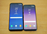 Samsung Galaxy S8 sports a 5.8-inch Quad HD+ Super AMOLED curved display. The display comes with a 1440x2960 pixel resolution and an 18:9 aspect ratio. On the other hand, the Galaxy S8+ features a 6.2-inch screen sharing similar specifications.