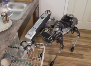 Boston Dynamics introduces Spot Mini, a robot dog which could deliver packages. The robotics company reveals that they have been using the machine to deliver parcels around Boston.
