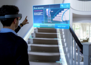 The HoloLens is able to track the movements of its user's head and position. It is also completely wireless and runs on battery power while projecting stereoscopic 3D images to each of the user's eyes.