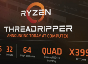 AMD has not announced the Threadripper 1920 itself, but Asus lists the CPU in the list of compatible CPUs for its RoG Zenith Extreme motherboard.