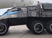 NASA unveiled a concept for a Mars Rover and it looks a lot like the Batmobile.