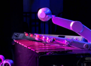 Shimon was originally developed by Gil Weinberg, director of Georgia Tech's Center for Music Technology. Under its original programming, the robot was capable of improvising music as it played alongside human performers.