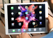 Apple's newest mobile operating system, which is the iOS 11, adds some key features to the new iPad Pro that makes it work more like a MacBook Pro laptop than ever before.