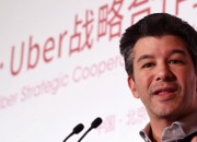 Uber's Travis Kalanick succumbs to pressure from shareholders and gives up his CEO title.