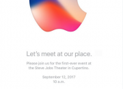 Apple sends out invites for the highly-anticipated iPhone 8 launch event on September 12.