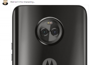 Prolific tipster Evan Blass tweets the image of a Motorola phone carrying Android One logo on its back.