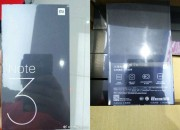 Xiaomi Mi Note 3 specs revealed in leaked retail package box via Twitter.