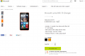 Lumia 640 pre-order page on Microsoft Store UK