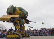 China may join in the upcoming robot wars, challenging giant fighting robots made by USA and Japan. Dubbed the Monkey King, the latest megabot challenger may kick off a robot fighting league.