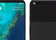 Leaks indicate that the Google Pixel 2 will look different from the Pixel 2 XL.