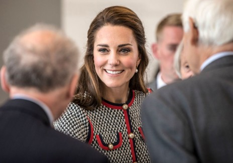 The Duchess Of Cambridge Visits The New V&A Exhibition Road Quarter