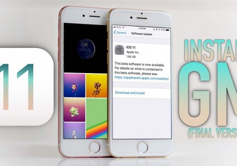 Download iOS 11 GM for iPhone, iPad and iPod Touch via IPSW Links